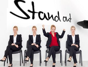 stand out as job applicant