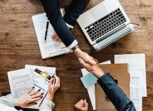 competitive resume is made by quality resume writers sealed by a handshake