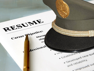 military resume writing tips