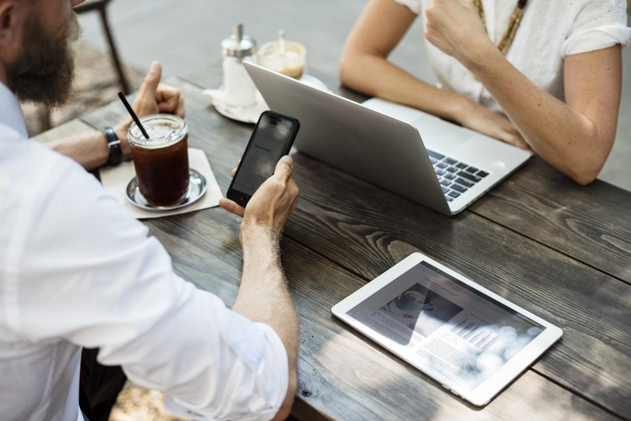showing online portfolio