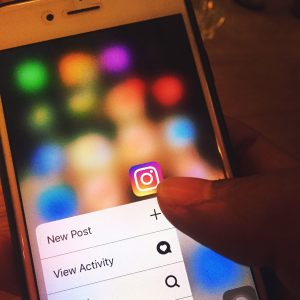 Job Search Tool and Apps: Iphone showing Instagram