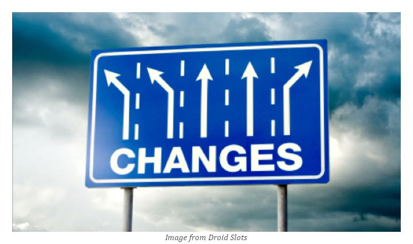 """changes"" road sign behind dim clouds - how to deal with your new boss"