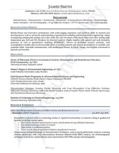 Curriculum Vitae - Researcher