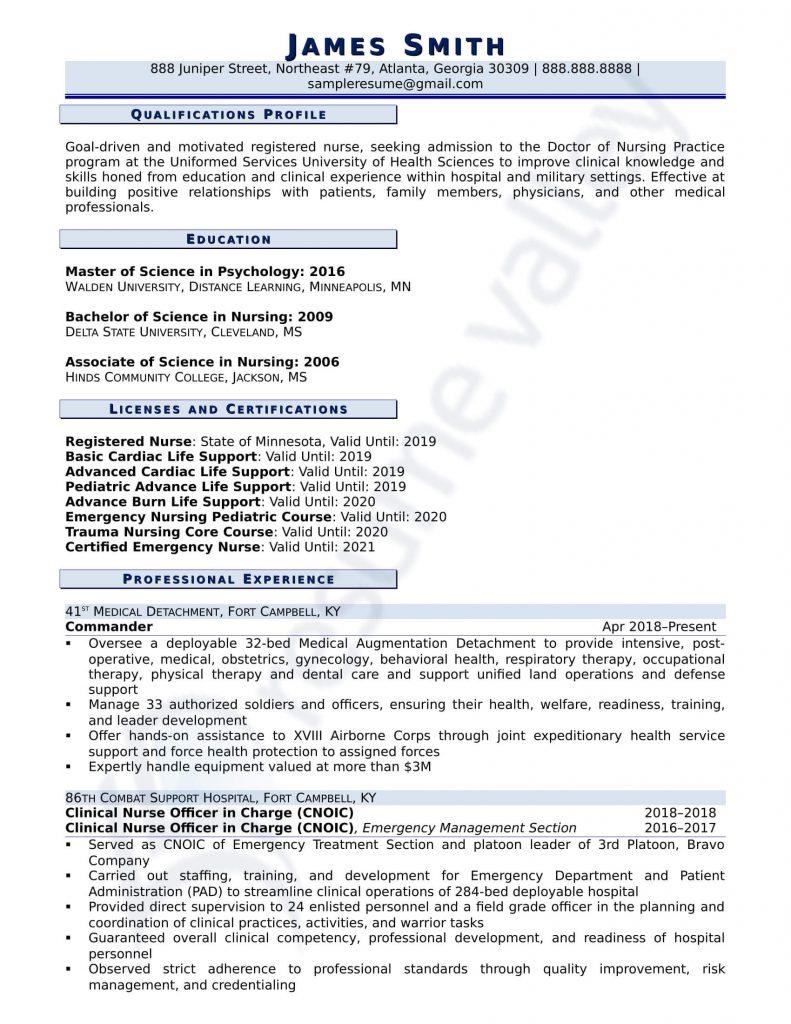 Curriculum Vitae - School Admission