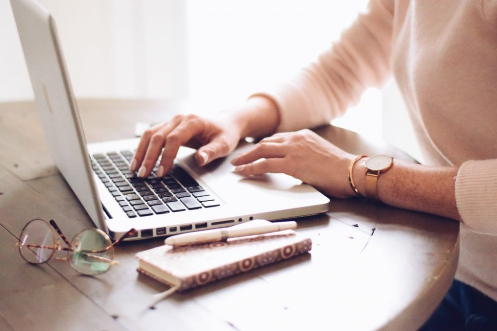 a woman searching for CV writing dos and don'ts